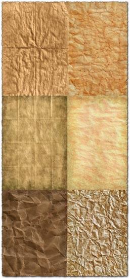 Grunge paper background textures
