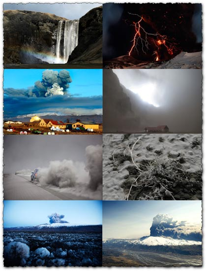 35 Iceland volcano eruption images