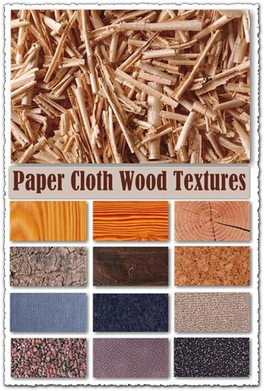 Paper and wood texture background collection
