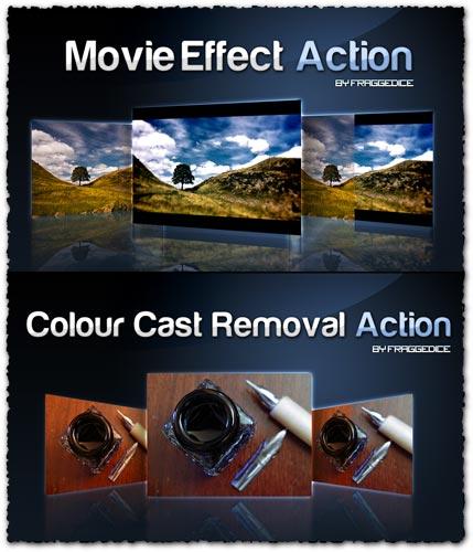 Movie effect photoshop action script