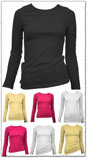 16 Photoshop t-shirt templates