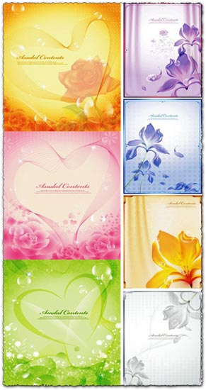 2 Love vector banners