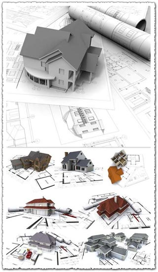 3D Construction and architectural images