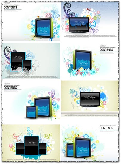 Digital billboard vectors