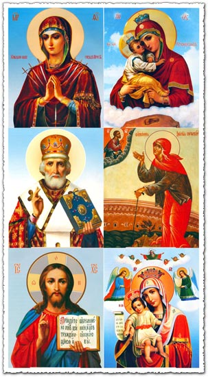 Orthodox icons images