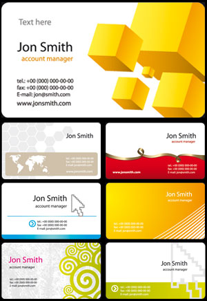 24 corporate business cards models colourmoves