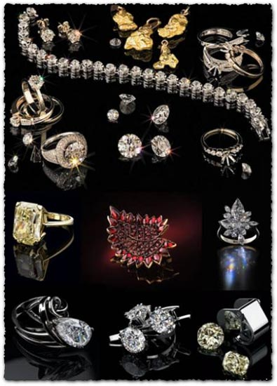 32 Jewelry images collection