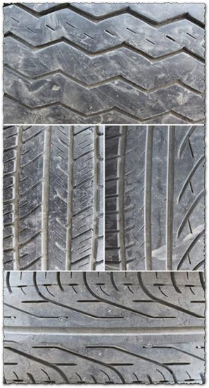 4 Tire background textures