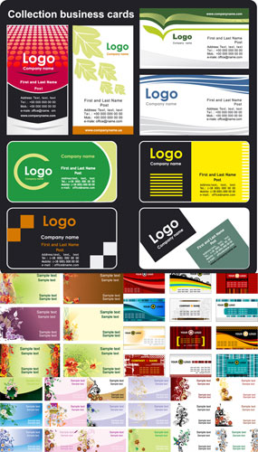 6 Business cards models