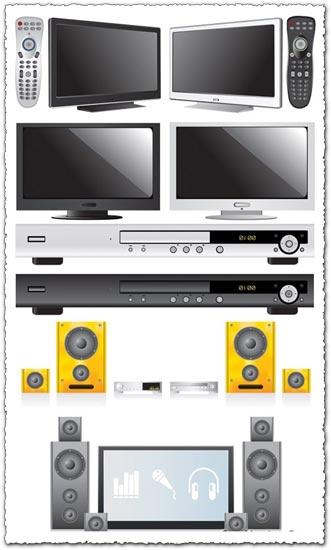 Audio and video vectors