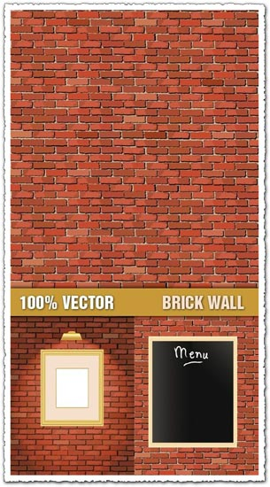 Brick Walls Texture Vectors