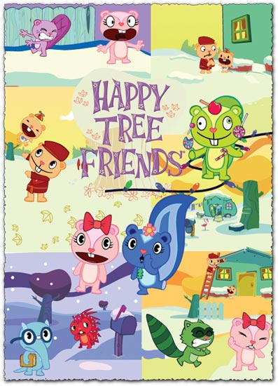 Happy tree friends vectors