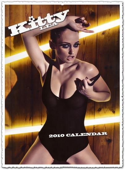 Kitty Lea official calendar 2010