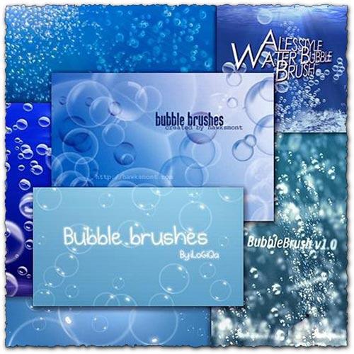 Photoshop bubble brushes