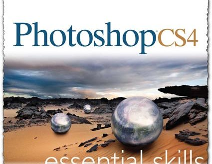 Photoshop CS4 essential skills book