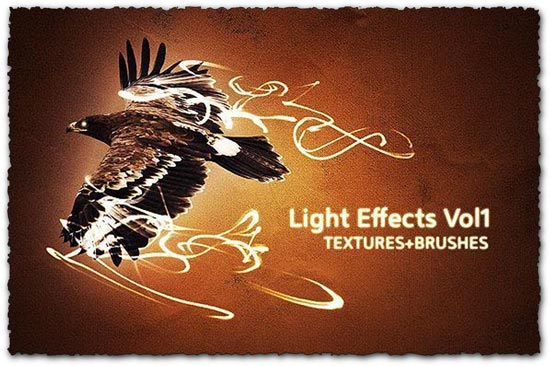 Photoshop light effect brushes