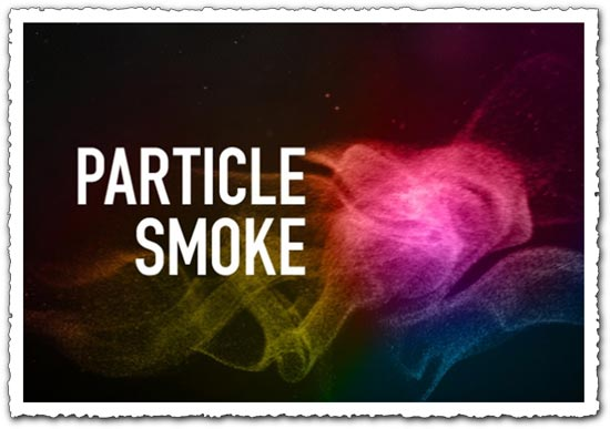 Photoshop particle smoke  brushes
