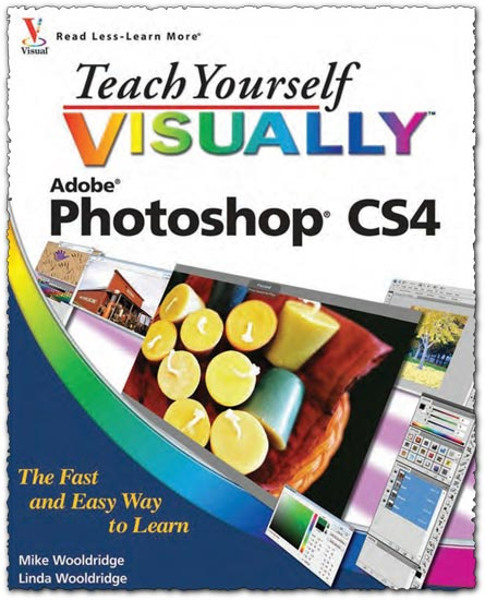 Teach yourself visually Photoshop CS4 book