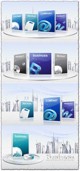 Asadal business vector templates