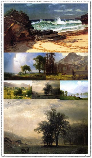 202 great wallpapers of Albert Bierstadt