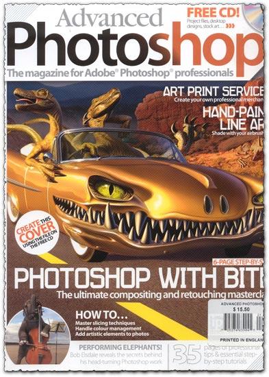 Advanced Photoshop Magazine Issue 24
