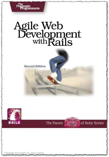 Agile webdevelopment with Rails 2.0