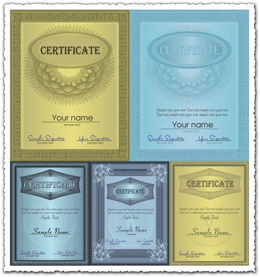 Certificate vector design