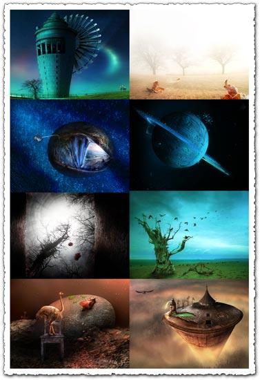 Frank Melech art wallpapers