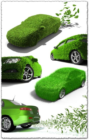 Green cars images