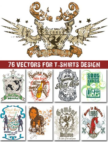 Retro designs for t-shirts