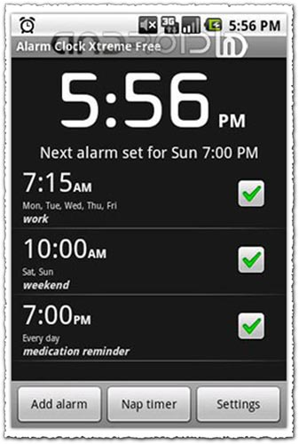 Alarm Clock Xtreme 2.2.1 Android application