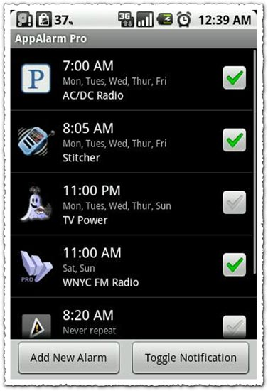 AppAlarm Pro 1.2.6 Android application