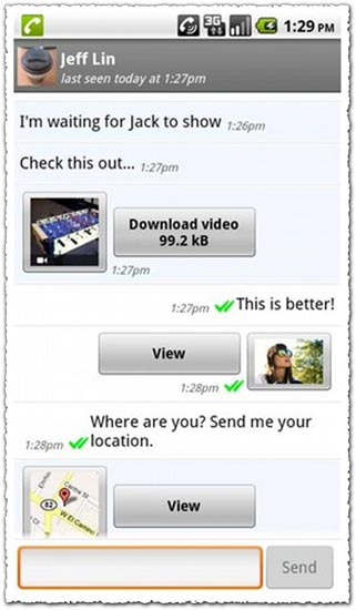 WhatsApp Messenger 2.1.10565 Android application