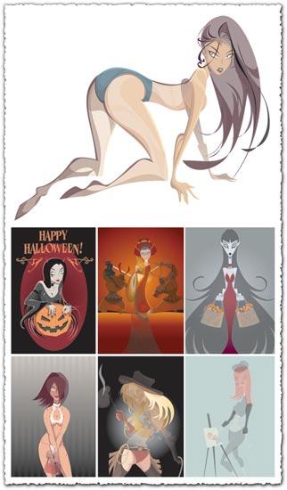 Cartoon girls design