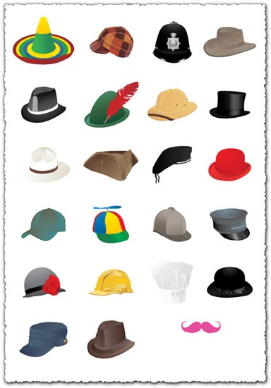 Vector hats design