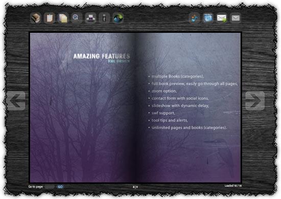Xml Flip Book