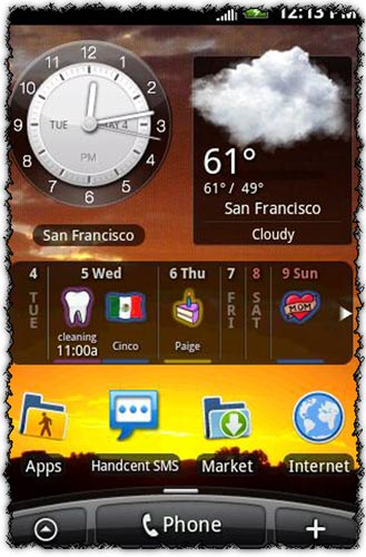 Blik Calendar Pro 2.0.4 application for Android