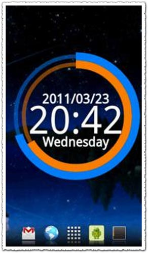 CircleWidgets 1.0b Android application