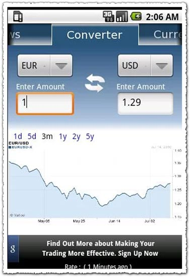 Currency Converter 0.6.2 Android application