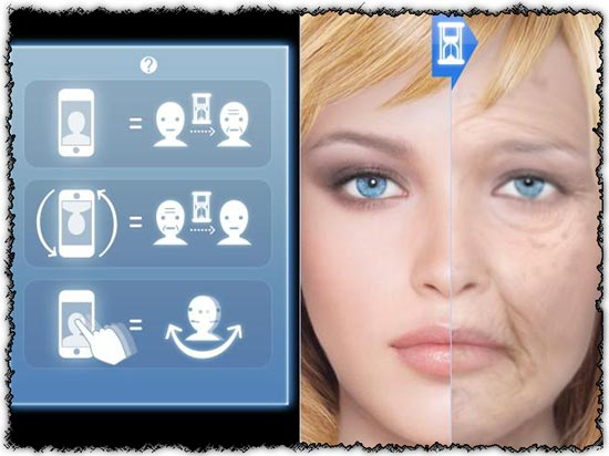 HourFace 3D Aging Photo 1.1 application for Android