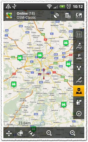 Locus Maps Pro 1.3.0 Android application