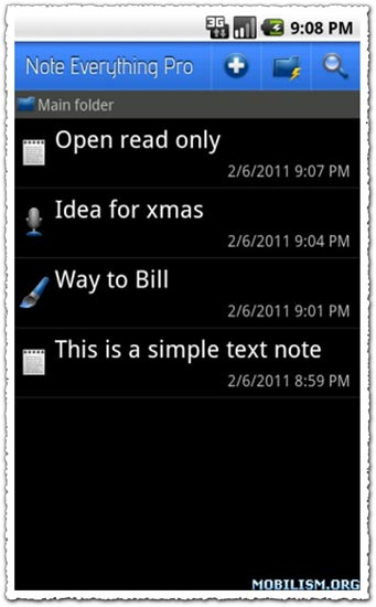 Note Everything Pro 4.0.2 Android application
