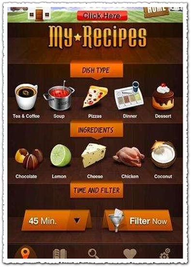 Recipes 2 Point 1.0 Android application