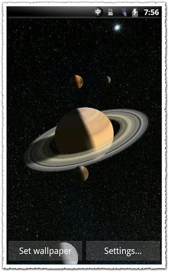 Solar System 3D Pro 1.09 Android application