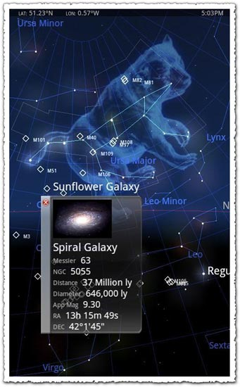 Star Chart 1.87 Android application