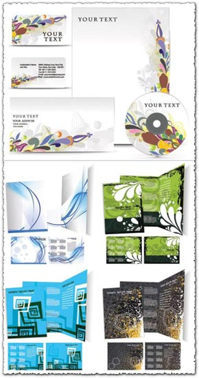 Corporate leaflets templates