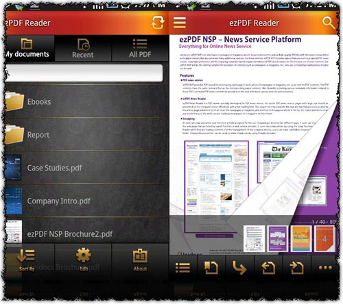 ezPDF Reader 1.0.22.0 application for Android