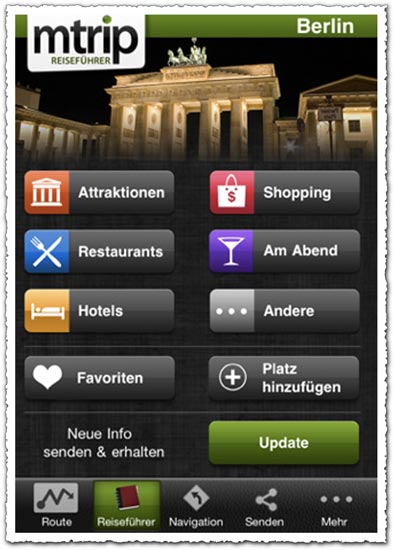 mTrip Berlin Travel Guide 1.0.8 Android application