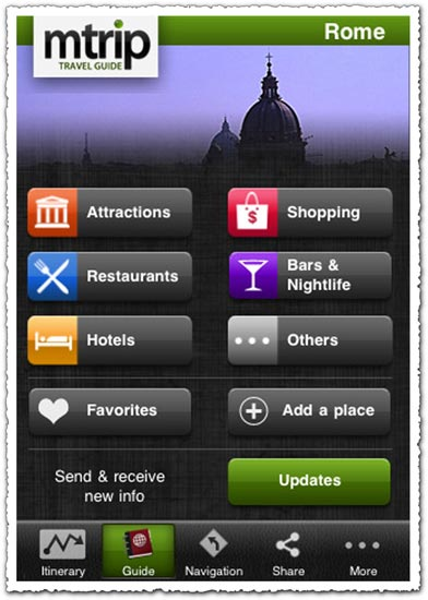 mTrip Rome Travel Guide 1.0.8 Android application