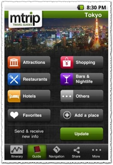 mTrip Tokyo Travel Guide 1.0.8 Android application